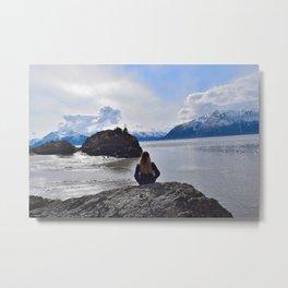 Wandering in Anchorage Metal Print