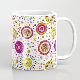 Amelia's Circles White Coffee Mug