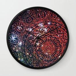 Space mandala 2 Wall Clock