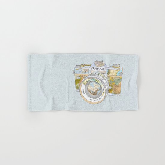 TRAVEL CAN0N Hand & Bath Towel