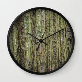 Much Moss Wall Clock