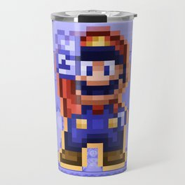 Peace Mario Travel Mug