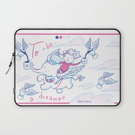 To be... A dreamer Laptop Sleeve