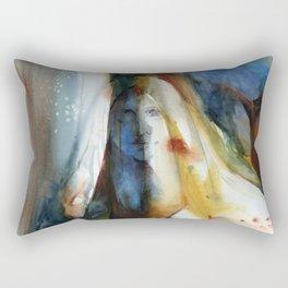 Autumn Goddess 2 by Kathy Morton Stanion Rectangular Pillow