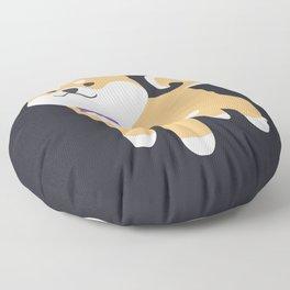 Formal Shiba Inu Floor Pillow