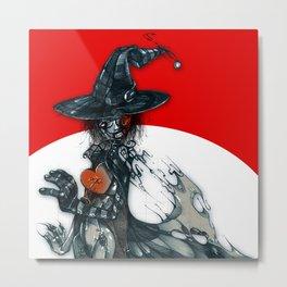 voodoo witch Metal Print