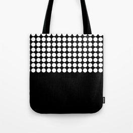 Black and white polka dot .2 Tote Bag