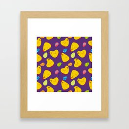Easter pattern Framed Art Print