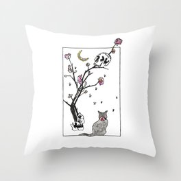 Grief Session Throw Pillow