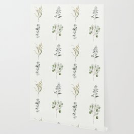 Eucalyptus Branches Wallpaper