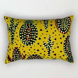 Cacti and pineapples Rectangular Pillow