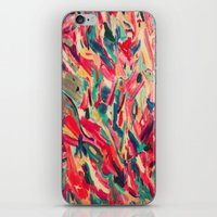 nail polish iPhone & iPod Skins featuring Nail Polish Painted by WayfarerPrints