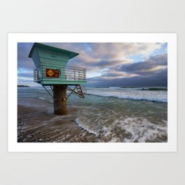Cardiff Reef Tower Art Print