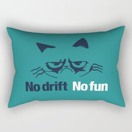 No drift No fun v2 HQvector Rectangular Pillow