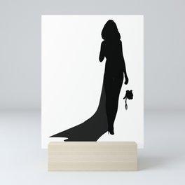 Sexy Bride Mini Art Print