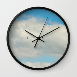 099 | hill country Wall Clock