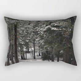 Carol Highsmith - Snow Covered Trees Rectangular Pillow