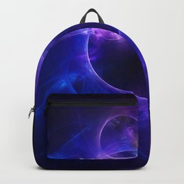 Blue and Purple Circles 1 Backpack
