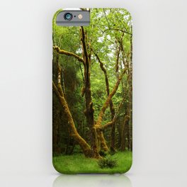 A Moos Laden Tree iPhone Case