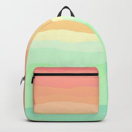 Ice Cream Pastel Rainbow Backpack