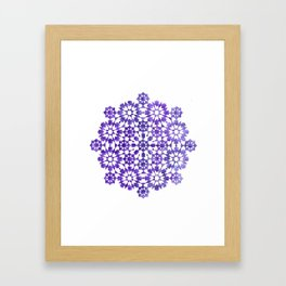 IG purple Framed Art Print