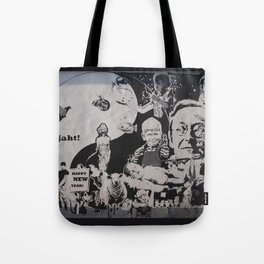 LIFE CURRENT WALL 2014 Tote Bag