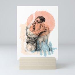 The Lovers - NOODDOOD Remix Mini Art Print