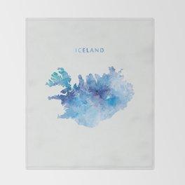 Iceland Throw Blanket