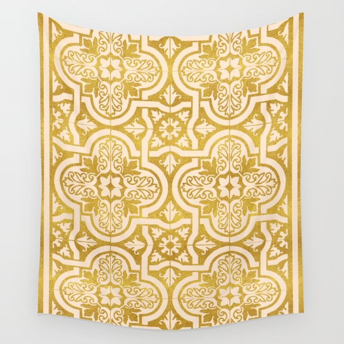 Moroccan Gold    #society6 #decor #buyart Wall Tapestry by 83oranges ...