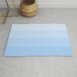 Four Shades of Light Blue (Lighter) Rug