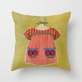 Avery Dress 01 Throw Pillow