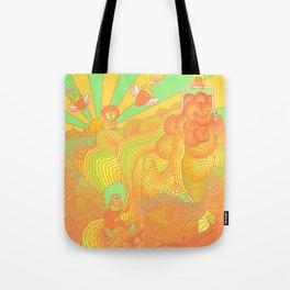 Cotton Candy Cyclops Dream: Tangerine Limeade (3 of 4) Tote Bag