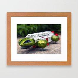 Hawk Cosmos Navigator 2099 Framed Art Print
