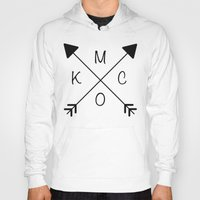 kansas city Hoodies featuring Kansas City x KCMO by K Michelle