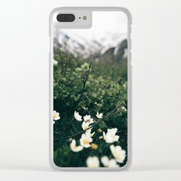 Baby Blooms Clear iPhone Case