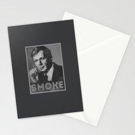 Smoke! Funny Obama Hope Parody (Smoking Man)  Stationery Cards