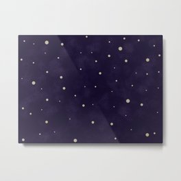 Starlit night Metal Print