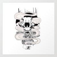 Feed Art Print