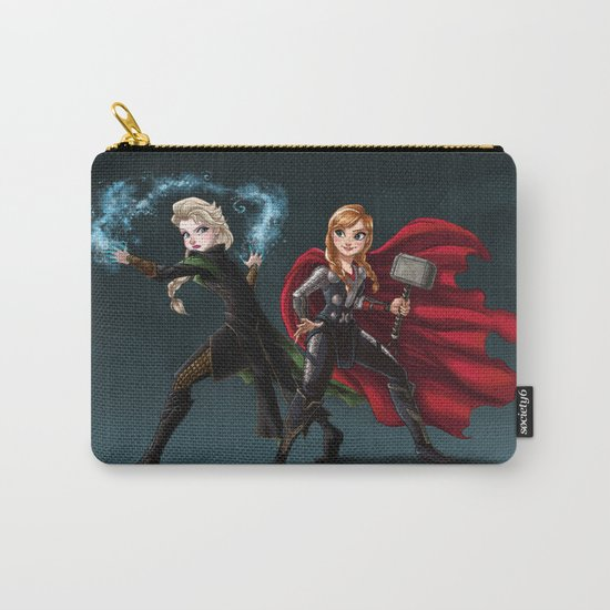 Thunder and Frost Carry-All Pouch