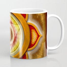 "Svadhisthana Chakra - Sacral Chakra - Series ""Open Chakra"" Coffee Mug"