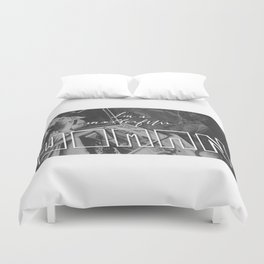 I'M A MOTHERF---- WOMAN Duvet Cover