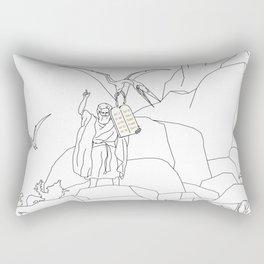 Jesus, Etc. III (Alt) Rectangular Pillow
