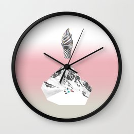 Domestic landscape Wall Clock