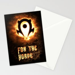 Wow Horde II Stationery Cards
