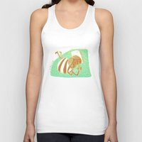 pride Tank Tops featuring pride by ana javier