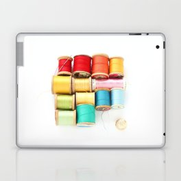 Colorful Needle and Thread Laptop & iPad Skin