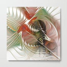 pictures on flames -6- Metal Print