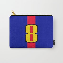 football team 1 number eight Carry-All Pouch