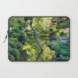 Japanese Tea Garden Lake Laptop Sleeve