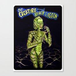She Creature Canvas Print